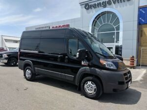 2017 Ram ProMaster 2500 HIGH ROOF, 136, UCONNECT, REAR CAM, LOW