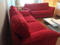 2 Three Seater Sofas / can deliver