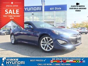 2016 Hyundai Genesis Coupe 3.8 PREM|NAV|BACK-UP CAM|SUNROOF|