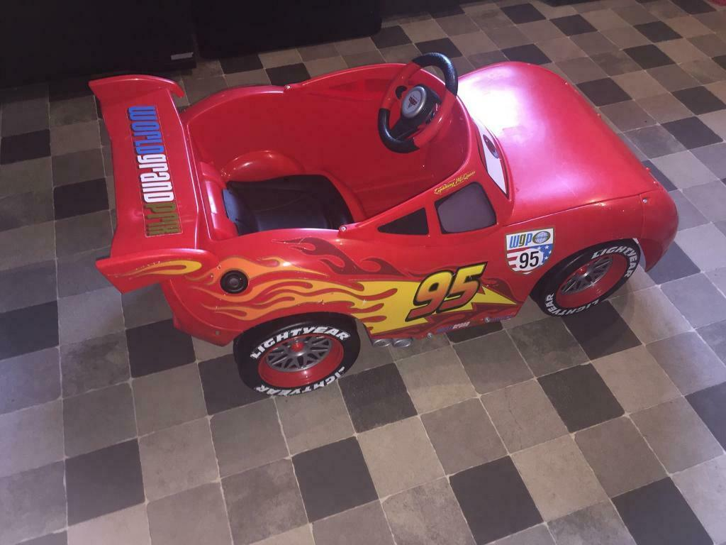Disney Lightning Mcqueen 6v Electric Car