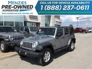 2014 Jeep WRANGLER UNLIMITED Sport 4x4, Bluetooth, Hardtop, Side