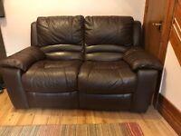 DFS 2 seater recliner sofa