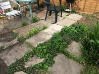 Used paving slabs free to collect