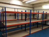 SUPER heavy duty industrial shelving 6ft long! !( pallet racking , storage )