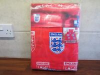 England Football Single Duvet Cover and Pillow Brand New