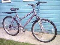 *FULLY SERVICED* LOVELY, LIGHTWEIGHT, LADIES BIKE + M/GUARDS, LIGHTS & LOCK **FREE DELIVERY HULL**