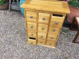 Chest of Draws - 12 Small Draws