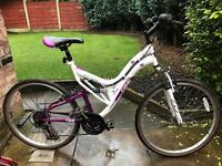 adults d26 mou tain bike hardly used