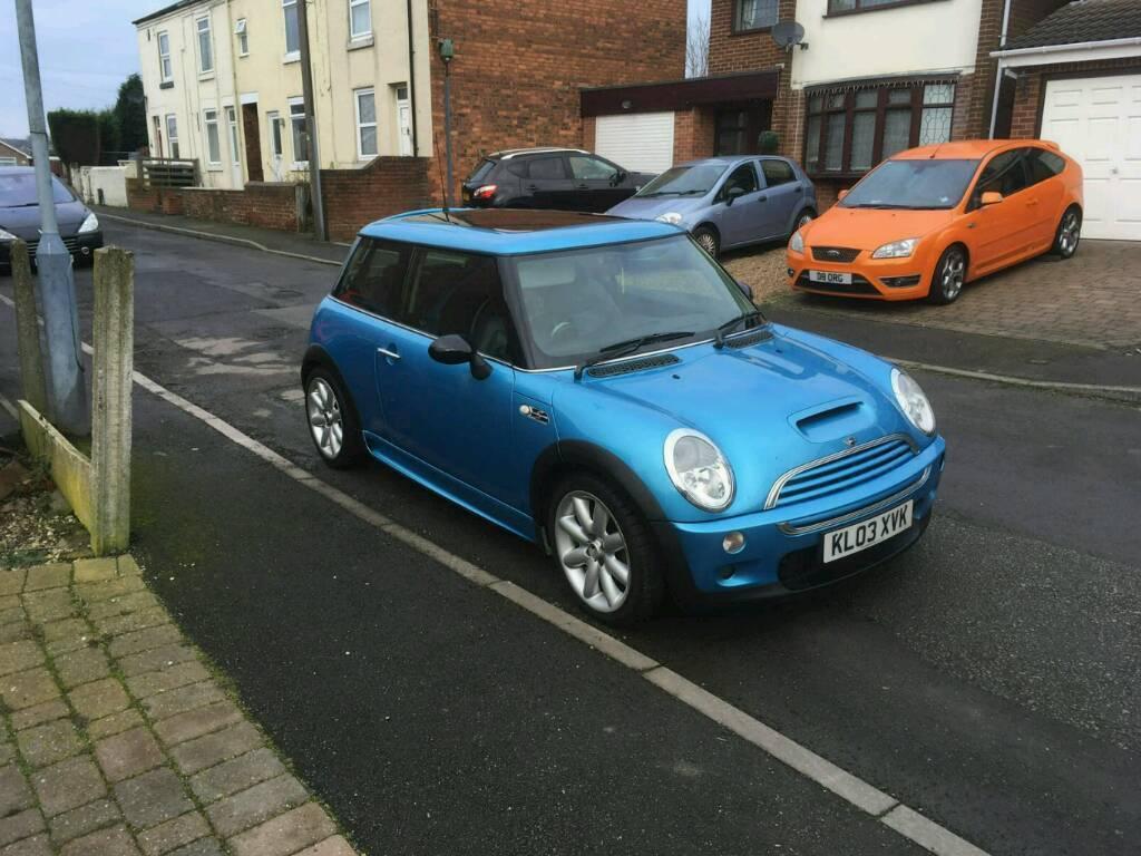 2003 03 Reg Mini Cooper 1 6 S Stunning Blue