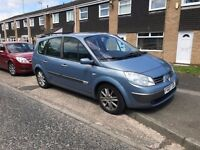 2007 Renault Grand Scenic for sale SPARES OR REPAIR