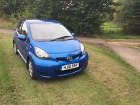 FANTASTIC CONDITION - Toyota AYGO 1.0 VVT-i Blue 5dr - Low mileage.