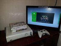 Xbox 360 in white