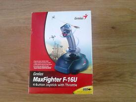 Genius Maxfighter F-U16 USB Joystick