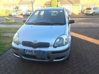 TOYOTA YARIS T2, 3DR HATCHBACK. GOOD CAR AND CHEAP TO RUN