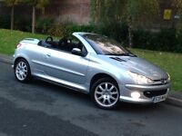 * Bargain * 2005 Peugeot 206 CC SPORT 1.6 Manual Petrol - LOW MILEAGE - PX WELCOME
