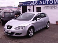 2008 SEAT LEAON 2.0 TDI SPORT (140) 12 MONTHS M.O.T 6 MONTHS WARRANTY (FINANCE AVAILABLE)