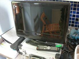 "15"" Flat TV"
