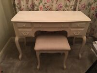 Laura Ashley Provençal dressing table and stool set