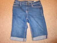 Girls Age 10 Denim Shorts - see description, individually priced