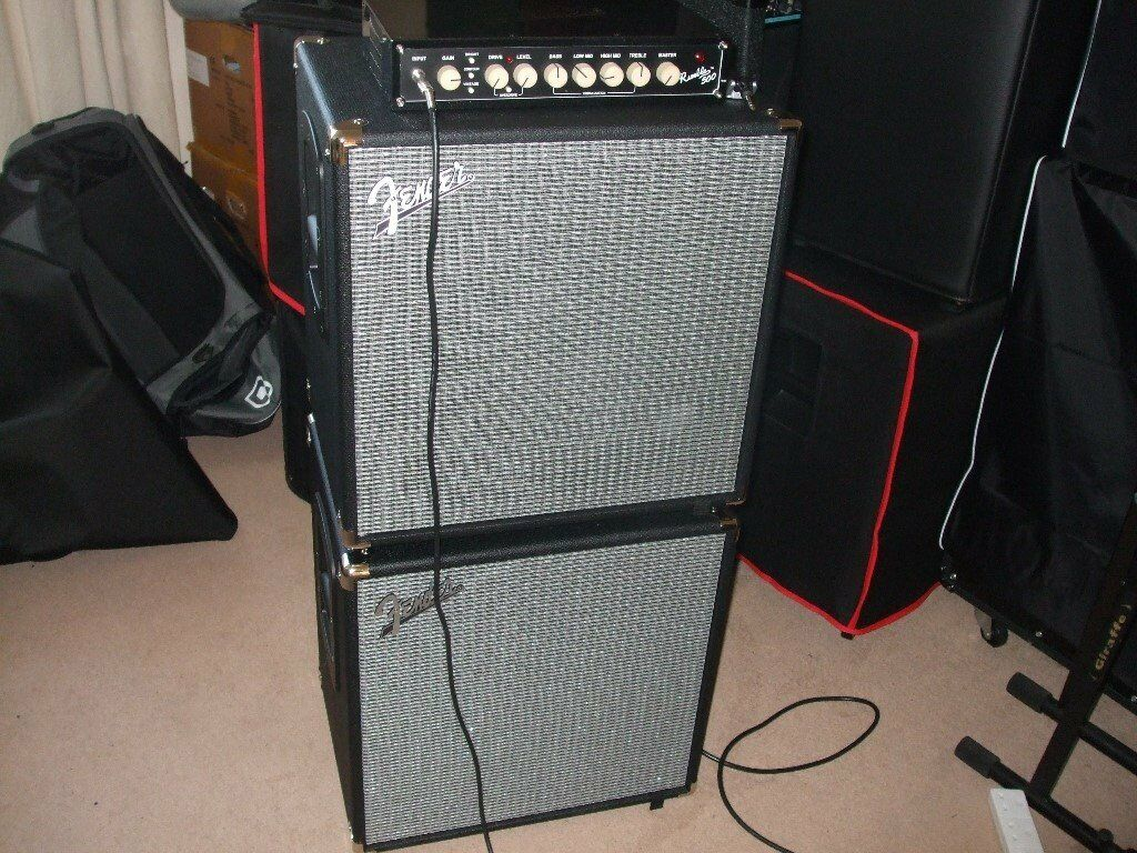 fender rumble 410 bass
