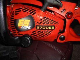 echo 2700es chainsaw