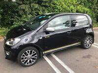 VW Street Up! 65 plate, 5 month warranty, 12,300 miles, 75bhp, £20 VED, A/C, SatNav, Top Spec