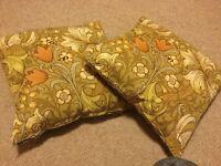Retro cushions x 2