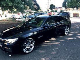 BMW 730 M sport head up display, sunroof, reversing assist camera,