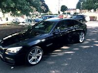 BMW 730 M sport head up display, sunroof, reversing assist camera,