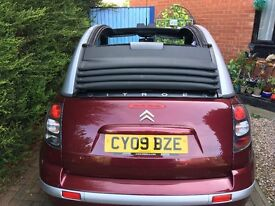 A 3 door Citroen pluriel convertable, in excellent condition, 10 months mot, reliable, good runner