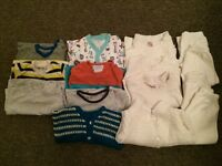 Baby boy 3-6 months bundle various outfits branded Pequilino TU babygap in good condition