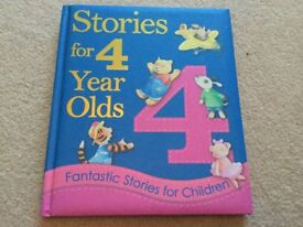 Stories for 4 Year Olds Book