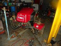 TORO MOWER D2000 WANTED SPARES OR REPAIR