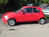STUNNING 2008 LOW MILEAGE FORD KA ZETEC CLIMATE, UNMARKED, LOW INSURANCE, 55MPG, ANY PART-EX WELCOME