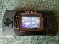 Atari Lynx II handheld console plus game