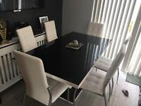 Designer high gloss dining table