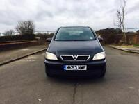 ZAFIRA CLUB 1.6-EXCELLENT CONDITION-7 SEATER CLEAN IN OUT START DRIVES PERFECT HPI CLEAR