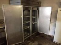 Stainless steel commercial fridge