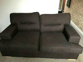 Brown sofa used