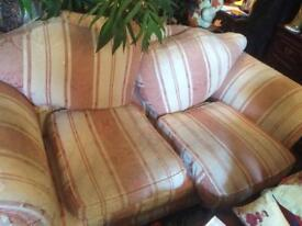 3 piece suite with wear