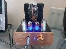 Headphone Vacuum Tube Amplifier USB DAC Audio Decoder