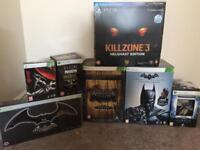 Xbox 360, xbox one and PS3 special/collectors editions
