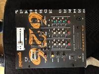 Gemini Platinum Pro PS626 DJ Mixer