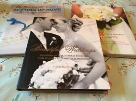 3x Large Wedding Books (Coffee Table)