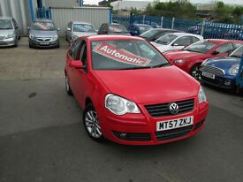 2007 57 VOLKSWAGEN POLO 1.4 S AUTO 37,000 MILES ONLY BARGAIN!!!!!