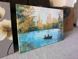 Lake canvas