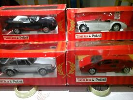 Tonka Polistil model cars
