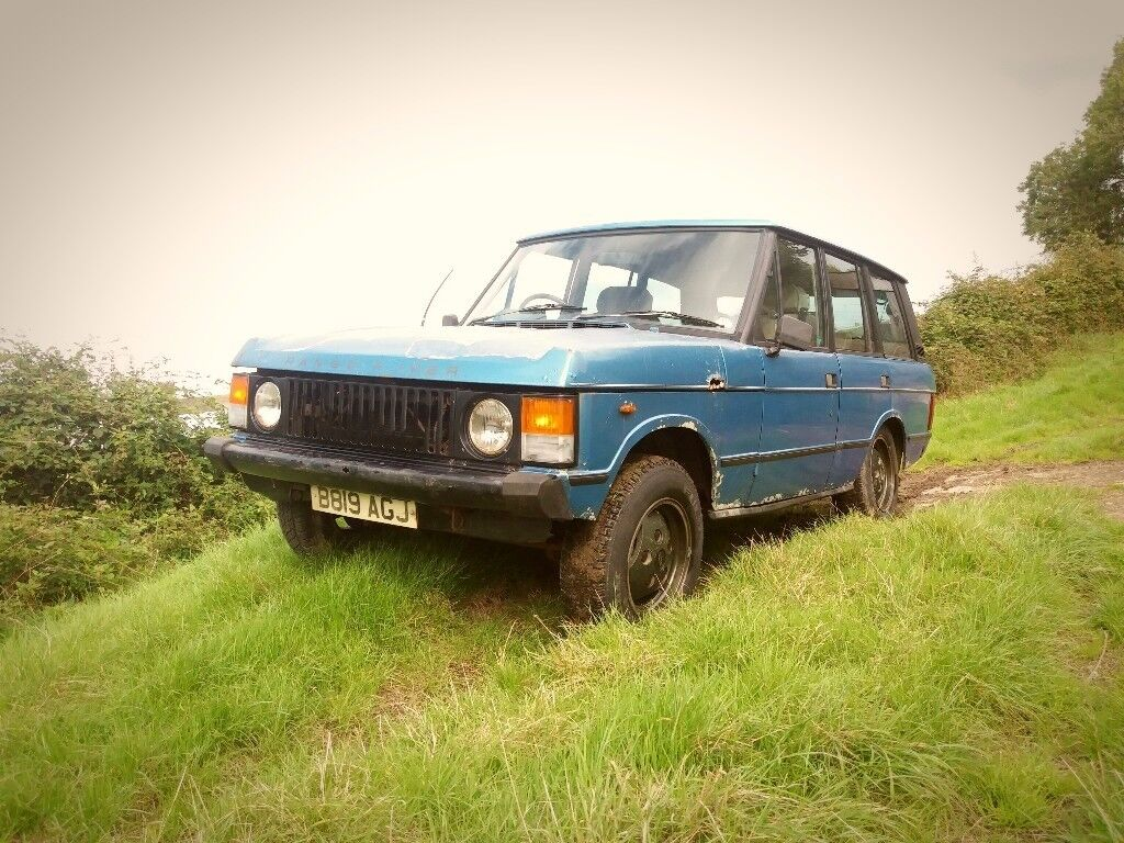 range rover classic 3 5 v8 1985 4wd 4x4 land rover off road project in wadebridge cornwall. Black Bedroom Furniture Sets. Home Design Ideas