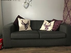Grey Sofa 2x3 seaters