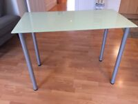 IKEA glass desk/table GLASHOLM - excellent condition